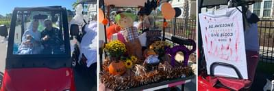 """Bridgewater's """"Not So Spooky"""" Golf Cart Parade for Tidelands Health"""