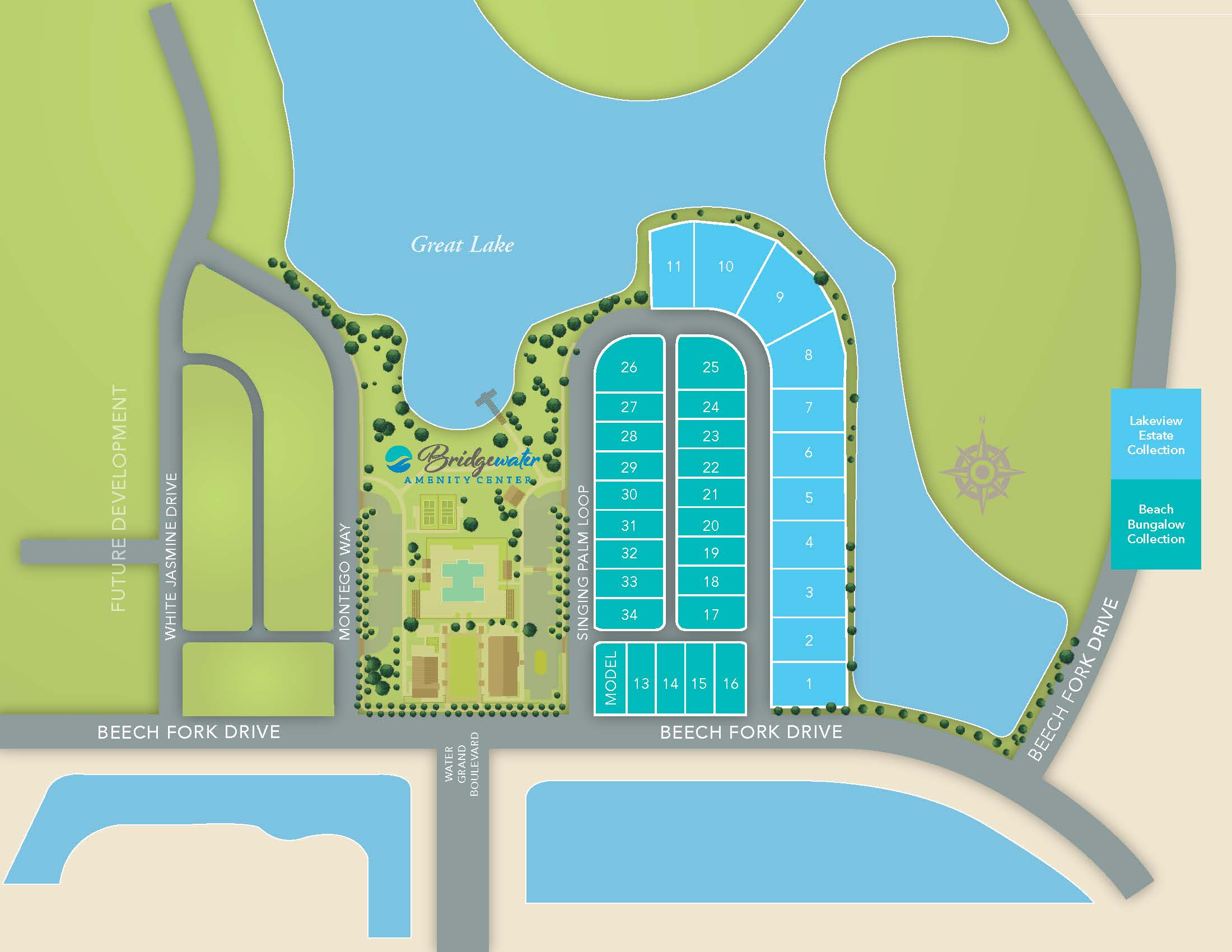 Little River, SC Bridgewater - Waterside Village One New Homes